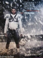 """2007 Nike Pro Ad-Shawne Merriman-Forged By The Elements-8.5 x 10.5"""""""