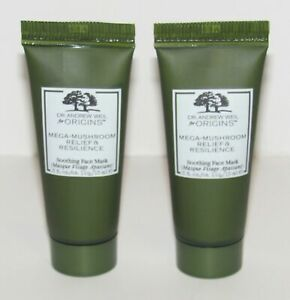 2X Origins Dr. Weil Mega Mushroom Relief Resilience Soothing Face Mask 0.5 Oz
