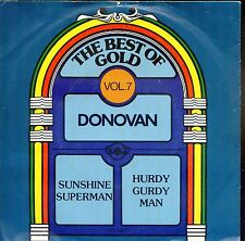7inch DONOVAN sunshine superman THE BEST OF GOLD VOL 7 holland 1978 EX