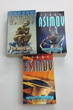Isaac Asimov 3 books Robots and Empire/The Complete Robot/prelude to Foundation