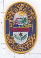 Florida - Metropolitan Fire Division Dade County FL Fire Dept Patch