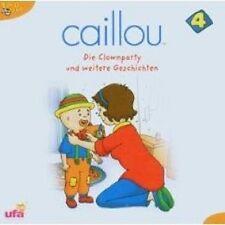 CAILLOU 4 CD KINDERHÖRBUCH NEU