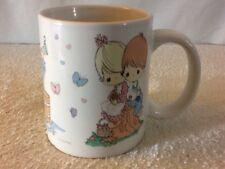 PRECIOUS MOMENTS 2010 Sherwood Brands Ceramic Coffee Mugg 3 Different Scenes