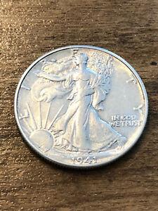 1941 Walking Liberty Half Dollar XF+