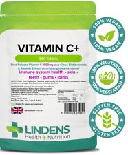 La vitamina C + 1000mg con Rosa Mosqueta + BIOFLAVONOIDES comprimidos de liberación de tiempo < > (360 Pack)