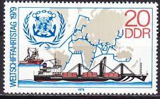 DDR Mi.-Nr. 2405 postfrisch 20 Pf. Weltschifffahrtstag 1979