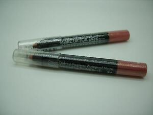 MAKE UP FOR EVER LOT (2) AQUA SHADOW WATERPROOF EYE SHADOW PENCIL 9P GOLDEN PINK