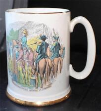 Vintage WOOD & SON ELLGREAVE Ironstone LORD CORNWELL'S MEN at YORKTOWN Mug