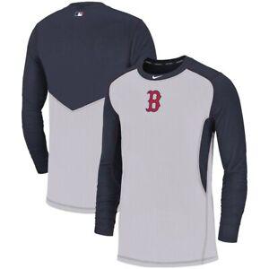 NIKE PRO BOSTON RED SOX MLB SLIM FIT PERFORMANCE LONG SLEEVE SHIRT SMALL