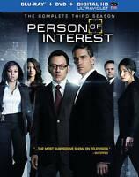 Person of Interest: The Complete Third Season (Blu-ray/DVD, 2014, 10-Disc Set, I