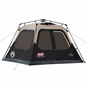 Coleman Cabin Tent with Instant Setup | Cabin Tent for Camping Sets Up in 60 Sec