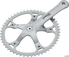 Campagnolo Record Track Crank 165mm, 49t, Polished Aluminum