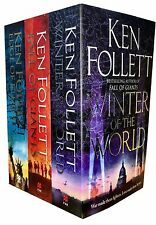 Ken Follett Century Trilogy Collection 3 Books Set Pack Edge of Eternity, Winter
