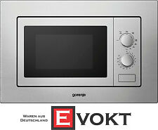 Gorenje BM171E2X Built In Microwave Oven With Grill Stainless Steel 17L Genuine