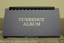 Whitman Large Currency Album W/ Removable 10 Semi Rigid Pages for Banknotes