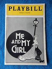 Me And My Girl - Marquis Playbill - February 1987 - Robert Lindsay - Plunkett