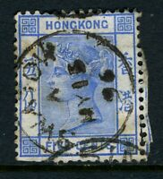 China 1882 Hong Kong 5¢ Pale Blue QV Wmk CCA SG #35 Treaty Port J668 ⭐⭐⭐⭐⭐⭐