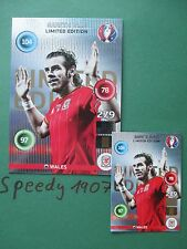 Panini Adrenalyn euro 2016 Limited Edition XXL bale Gales