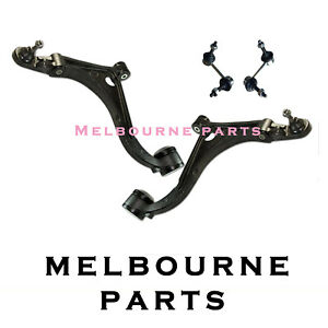 2 Ford Falcon AU 2 BA BF Front Lower Control Arms XR6 XR8 & Front Swaybar link 1