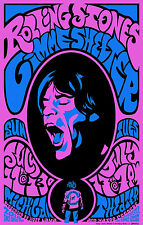 """ROLLING STONES  GIMME SHELTER  """"11x14""""  POSTER"""