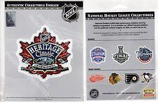 2016 HERITAGE CLASSIC JERSEY PATCH EDMONTON OILERS WINNIPEG JETS TIM HORTONS NHL