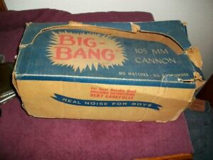 VINTAGE CARBIDE BIG BANG 105 MM CANNON