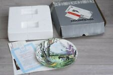 Wedgewood Limited Edition Bone China Plate - The Hayfield - Boxed