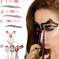 Plantilla de cejas formas Ajustable de brochas de maquillaje para cejas Molde