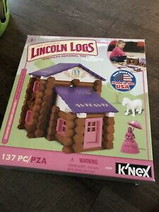 Hasbro K'Nex Lincoln Logs  Country Meadow Cottage 2015   133