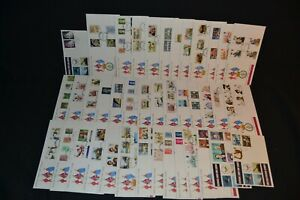 GB first day covers x 40 different all British Forces Official covers (high cat)
