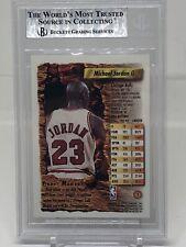 1993-94 Finest Michael Jordan BGS 9 MINT w/ 2 10 Subgrades BIN STEAL