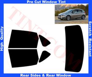 BMW 2  F45 Active Tourer 13- Pre-Cut Window Tint 5%-50% Rear Window & Rear Sides