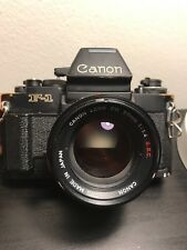 Canon New F1 With ae Finder And 50mm 1.4 S.S.C Lens  CLA'd