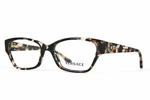 Versace Damen Brillenfassung VE3172 999 52mm havana pink Vollrand 431 10