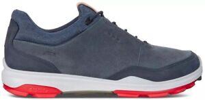 ECCO Mens Biom Hybrid 3 GTX Spikeless Golf Shoes, EU 41 US 7/7.5, OMBRE BLUE