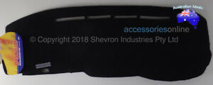 Dash Mat to suit TOYOTA HIACE SBV [ZH,CH] (1994 to 4/2001) by Shevron