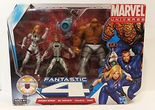 Marvel Universe FANTASTIC FOUR 4 Pack HERBIE Invisible Woman Thing Figure MIB