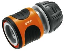"""Gardena Standard Water Stop Hose Connector for 13mm (1/2"""") Hoses 18213-20"""