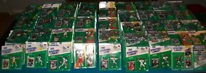88-00 Starting Lineup SLU Assorted NFL Football Packaged Figures Cards PSA Ready
