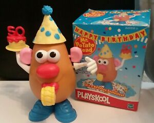 Mr. Potato Head Happy 50th Birthday Used by Playsckool
