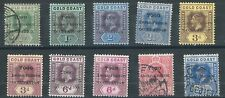 1915..16..TOGO..TIMBRES  ANGLO-FRENCH  OCCUPATION  10 TIMBRES