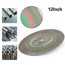 12 Inch High Speed Circular Saw Blade Cutting Disc Stainless Steel HSS  1.6x32mm