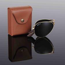 LTD EDN RAYBAN 22KT GOLD PLATED Folding AVIATOR Sunglasses RB 3479KQ 001/N5 55mm