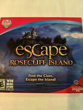 Escape Rosecliff Island (PC, 2009) Game...GFind the Clues and Escape the Island