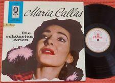 MARIA CALLAS Arias by BELLINI BIZET VERDI ROSSINI DONIZETTI Odeon Stereo LP ED1