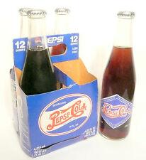 "vintage ACL pop SODA BOTTLE- RETRO PEPSI-COLA PEPSI 4 PACK ""Born in Carolinas"""