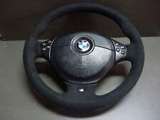 ALCANTARA LEDERLENKRAD BMW M-POWER  E34 E36 E39 Z3 mit Airbag NEU!!! Multifunk.