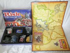 Risk Board Game By Parker 2004 Golden Cavalry Piece Edition Classic Strategy