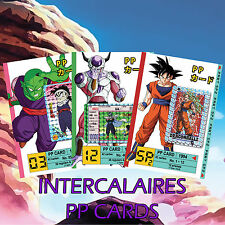Full Set 35 Intercalaires PP CARDS / Pull Pack Cards Dragon Ball - DBZ CARDDASS