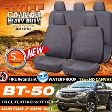 Canvas Grey Car and Truck Seat Covers